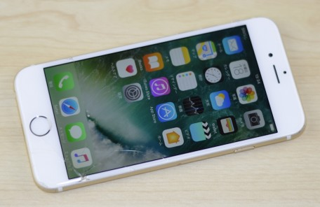 ガラス割れ au iPhone6 64GB ゴールド MG4J2J/A買取りました!壊れたiPhoneを売るならジャンク品iPhone買取ストア