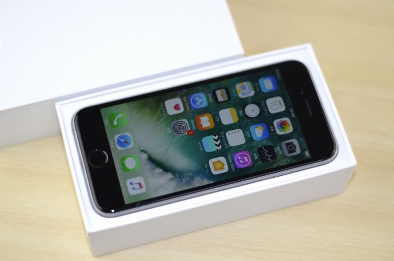 福岡市で壊れたiPhone買取を売るなら、ジャンク品iPhone買取ストア!ガラス割れ docomo iPhone6買取りました!64GB NG4F2J/A